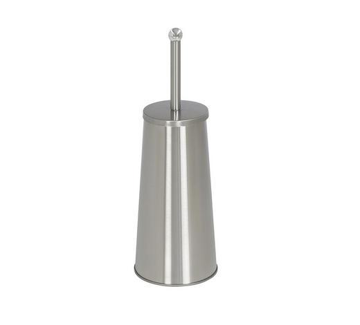 DRŽÁK NA WC ŠTĚTKU - barvy nerez oceli, Basics, kov (13/42/13cm) - Xora