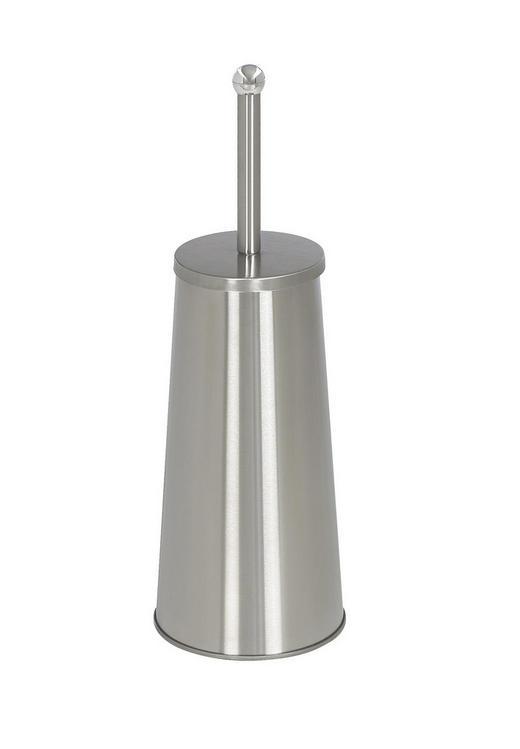 WC-BÜRSTENHALTER - Edelstahlfarben, Basics, Metall (13/42/13cm) - Xora
