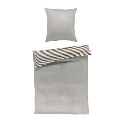 BETTWÄSCHE Satin Braun 135/200 cm - Braun, Basics, Textil (135/200cm) - JANINE
