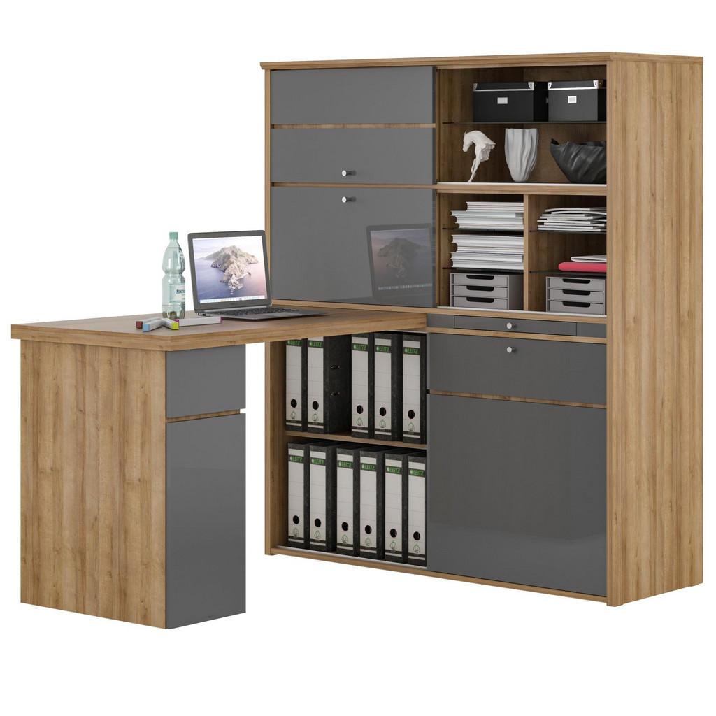 XXXLutz Mini-office in verschiedenen holz-dekore erhältlich