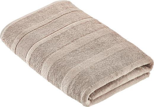 DUSCHTUCH 80/160 cm - Sandfarben, Textil (80/160cm) - CAWOE
