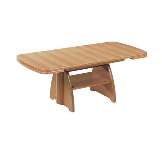 COUCHTISCH in Holzwerkstoff 90-131/65/56-75 cm - Eichefarben, KONVENTIONELL, Holzwerkstoff (90-131/65/56-75cm) - Venda