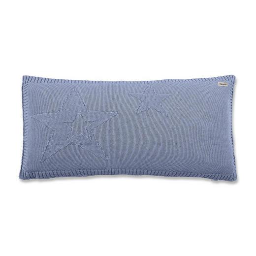 Strickschmusekissen - Blau, Basics, Textil (40/60cm) - Sterntaler