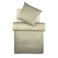 BETTWÄSCHE Makosatin Silberfarben 155/220 cm - Silberfarben, Basics, Textil (155/220cm) - Fleuresse