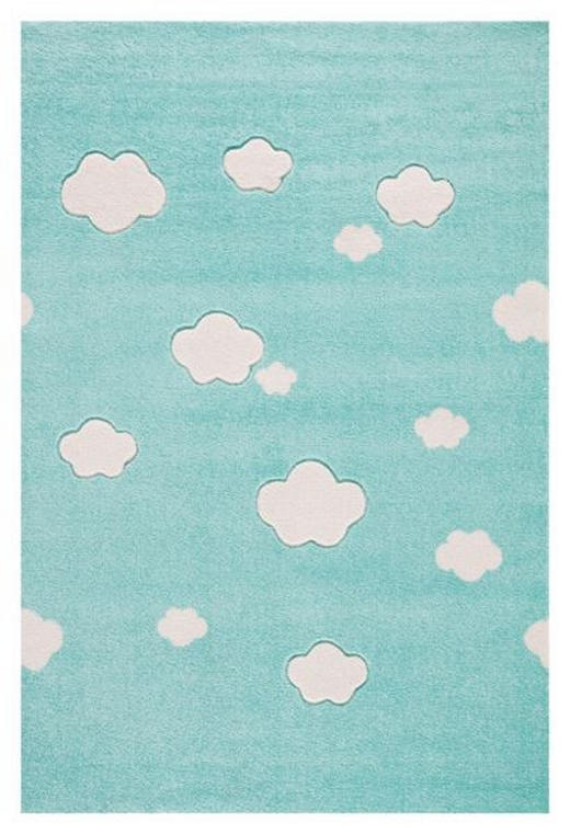 KINDERTEPPICH  160/230 cm  Mintgrün - Mintgrün, Basics, Textil (160/230cm)