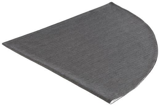 TISCHDECKE Textil Leinwand, Struktur Anthrazit 160 cm - Anthrazit, Basics, Textil (160cm) - NOVEL