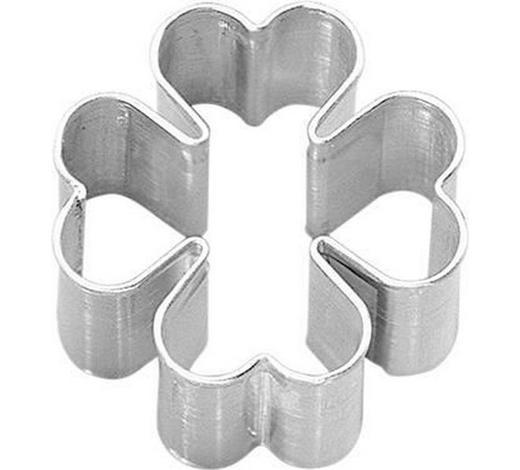 KEKSAUSSTECHFORM - Edelstahlfarben, Basics, Metall (6cm) - Birkmann
