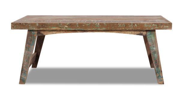 COUCHTISCH Recyclingholz massiv rechteckig Multicolor - Multicolor, LIFESTYLE, Holz (120/45/60cm) - LANDSCAPE