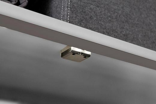 EINBAULEUCHTE für 50er Elemente mit Sensor - Silberfarben, Basics, Kunststoff - Hom`in