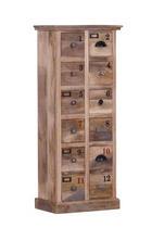 KOMODA - svijetlo smeđa, Konvencionalno, drvo (50/120/30cm) - LANDSCAPE