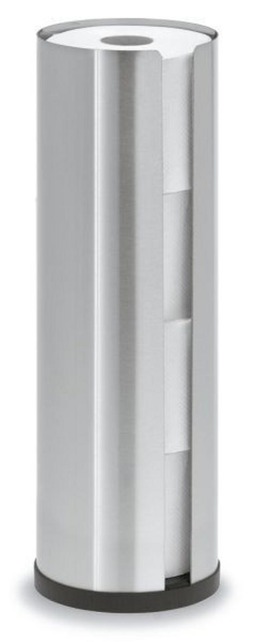 TOILETTENPAPIERHALTER - Edelstahlfarben, Basics, Metall (13,5/45,5cm) - Blomus