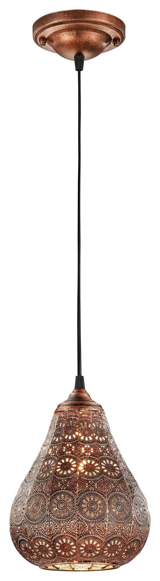 HÄNGELEUCHTE - Kupferfarben, LIFESTYLE, Metall (19/150cm)