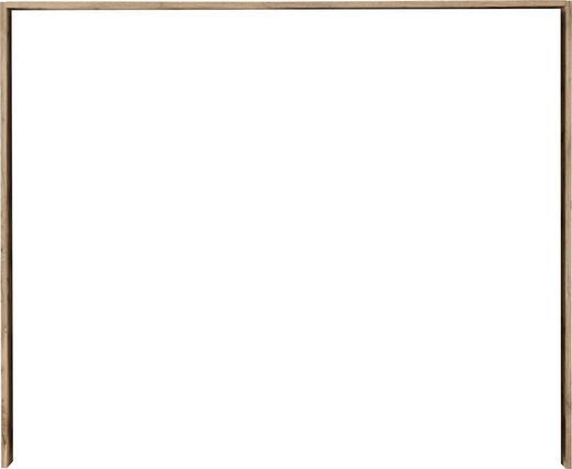 PASSEPARTOUTRAHMEN - Eichefarben, Design, Holzwerkstoff (280/230/17,5cm) - Carryhome