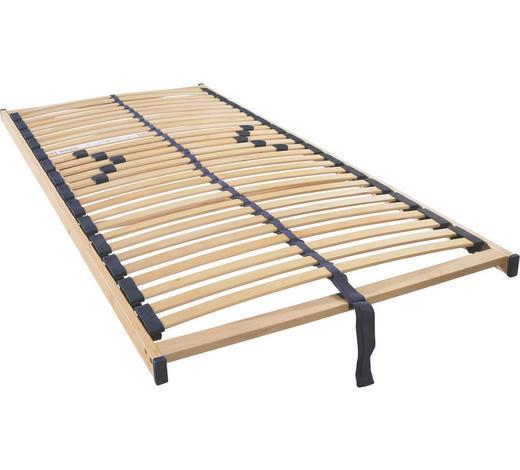 ROŠT, 120/200 cm - barvy buku/barvy břízy, Basics, dřevo/umělá hmota (120/200cm) - Sleeptex