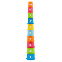 STAPELTURM - Multicolor, Basics, Kunststoff (10/63/10cm) - Chicco