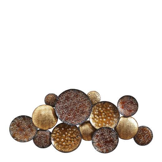 WANDDEKO Metall - Multicolor, Basics, Metall (106/50/4cm) - Ambia Home