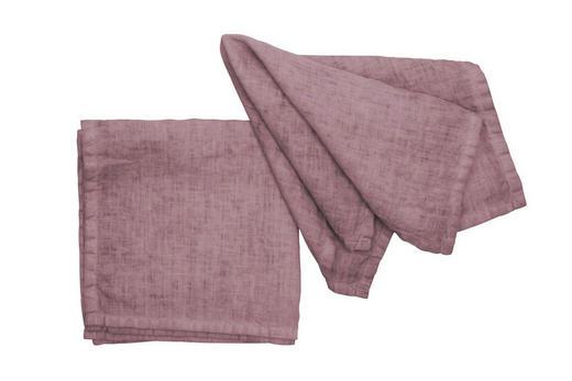 SERVIETTE  Textil  Rosa  40/40 cm - Rosa, Basics, Textil (40/40cm)