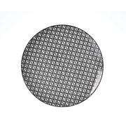 SPEISETELLER Keramik Steinzeug - Schwarz/Weiß, Basics, Keramik (26,5cm) - Ritzenhoff Breker