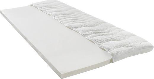 TOPPER 180/200 cm Latexkern - Weiß, Basics, Textil (180/200cm) - SLEEPTEX