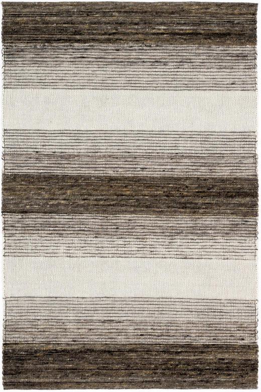 HANDWEBTEPPICH  130/200 cm  Beige, Braun - Beige/Braun, Basics, Textil (130/200cm) - Linea Natura
