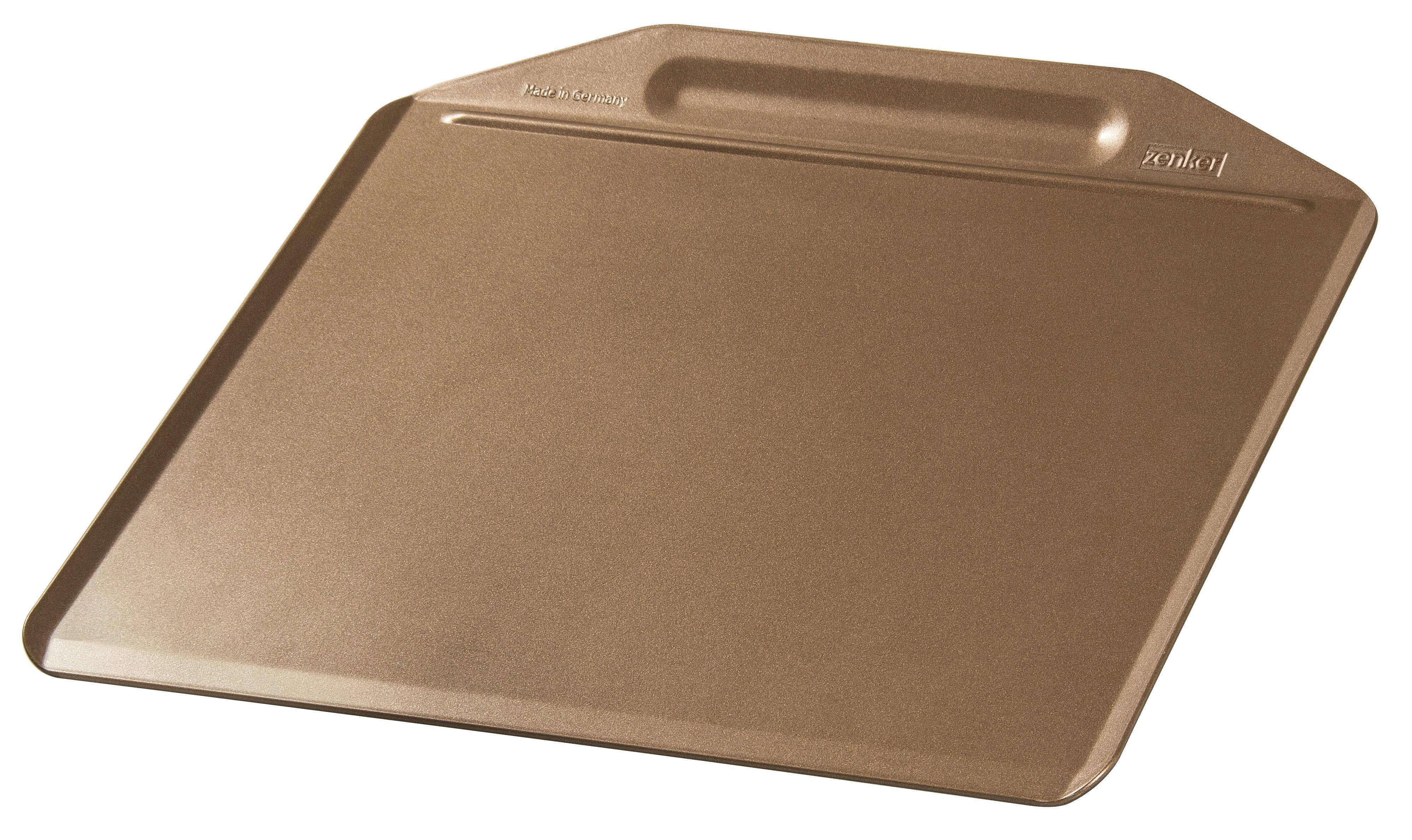 BACKBLECH - Goldfarben, Metall (36/33cm)