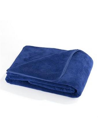 ODEJA WELLSOFT, MODRA 150/200 cm modra  - modra, Konvencionalno, tekstil (150/200cm) - S. Oliver
