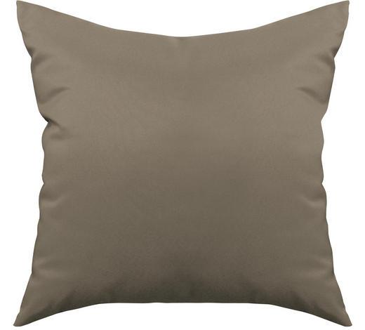 ZIERKISSEN 38/38 cm - Taupe, Basics, Textil (38/38cm) - Boxxx