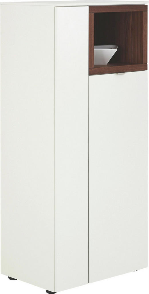 KOMODA HIGHBOARD - bílá/černá, Design, kov/dřevo (60 139 43cm) - Venjakob