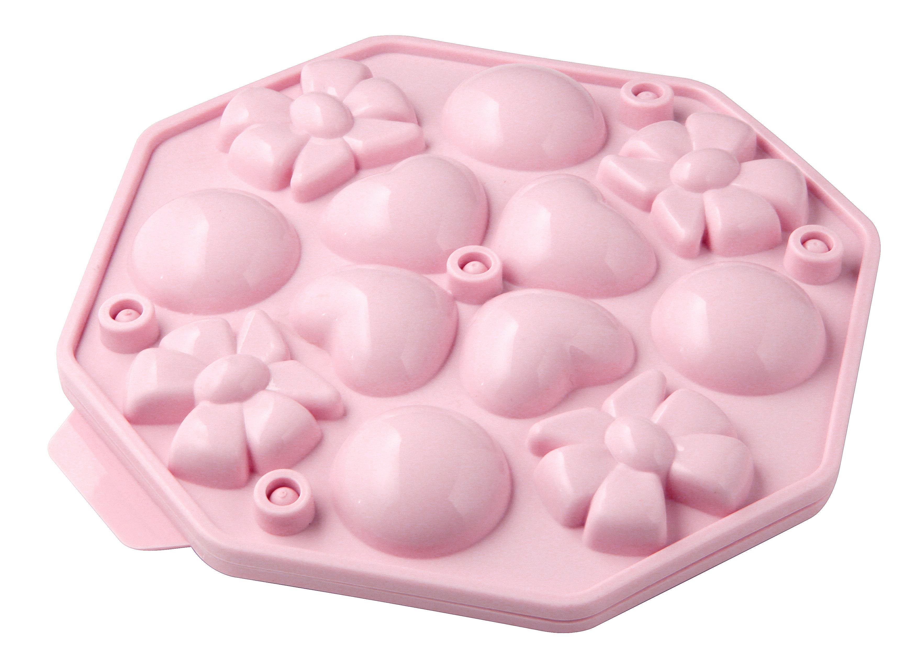 CAKE POP-FORM - Rosa, Kunststoff (18,5/18,5cm)