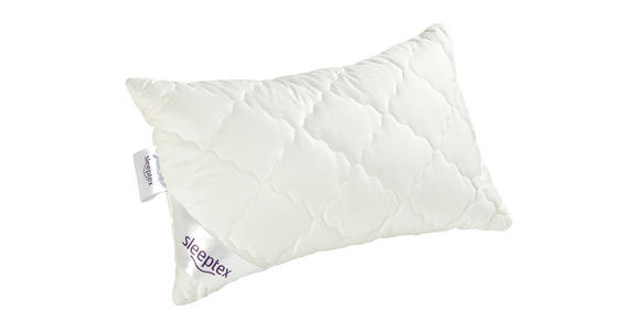 KOPFPOLSTER 40/60 cm   - Weiß, Basics, Textil (40/60cm) - Sleeptex