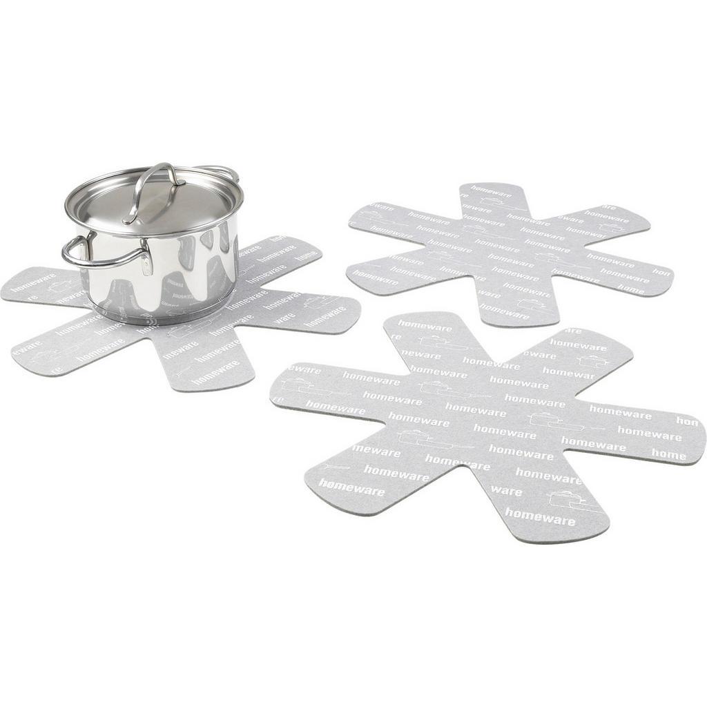 Image of Boxxx Pfannenschutz , Sb001R , Creme , Textil , Filz , schützt vor Kratzern , 0084410015