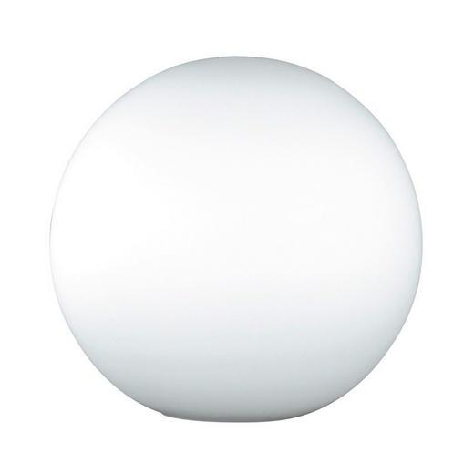 TISCHLEUCHTE - Weiß, LIFESTYLE, Glas (25cm)
