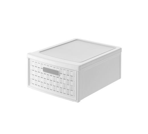 SCHUBLADENBOX 26/14.5/35 cm - Weiß, KONVENTIONELL, Kunststoff (26/14.5/35cm) - Rotho