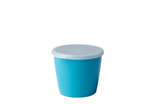 SCHALE Kunststoff - Klar/Blau, Design, Kunststoff (13,2/12/10,2cm) - Mepal Rosti