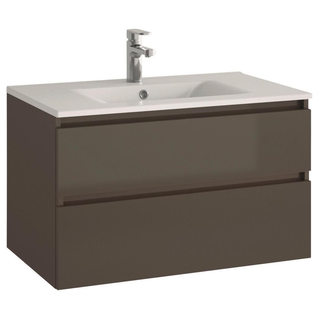 MID.YOU Waschtischkombi sanitärkeramik grau