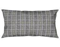 KISSENHÜLLE Anthrazit, Gelb 40/80 cm  - Anthrazit/Gelb, KONVENTIONELL, Textil (40/80cm) - Ambiente