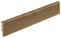 SOCKELLEISTE Eichefarben - Eichefarben, Basics, Holzwerkstoff (1,5/5,8/240cm) - Homeware