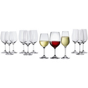 GLÄSERSET 12-teilig  - Basics, Glas (23/19/50cm) - Villeroy & Boch