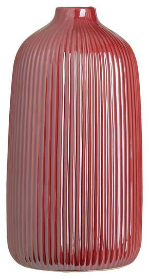 VAS - mörkrosa, Basics, keramik (13,3/25cm) - Ambia Home
