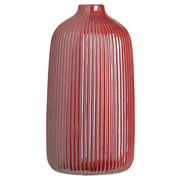 VÁZA - tmavě růžová, Basics, keramika (13,3/25cm) - Ambia Home