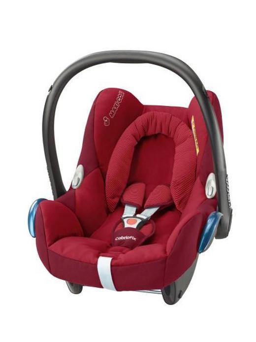 Babyschale CabrioFix - Rot/Schwarz, Basics, Kunststoff/Textil (44,5/57/66cm) - MAXI COSI