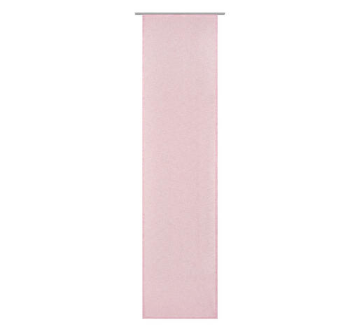 FLÄCHENVORHANG   halbtransparent  60/245 cm - Beere, Basics, Textil (60/245cm) - Novel