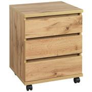POJÍZDNÝ KONTEJNER - barvy dubu, Konvenční, kompozitní dřevo/umělá hmota (45/57/39,6cm) - Hom`in