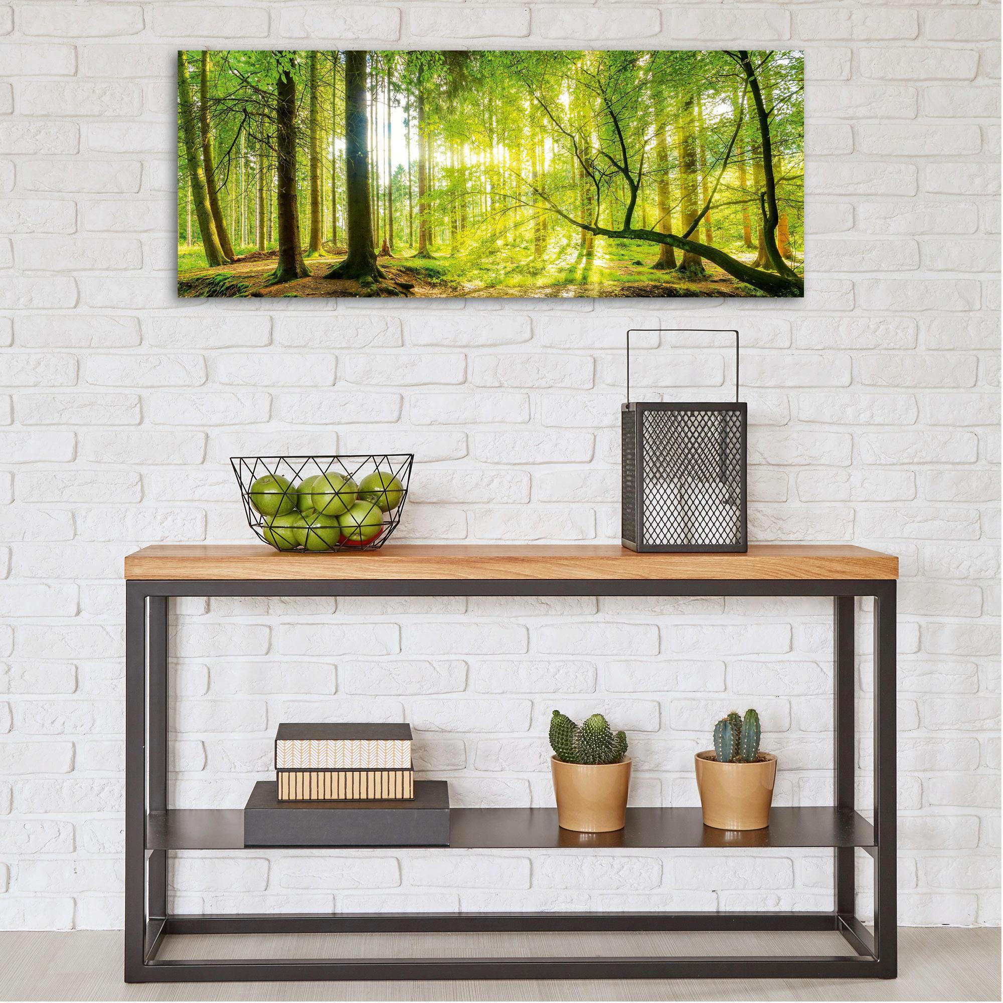 GLASBILD - Multicolor, Basics, Glas (50/125cm) - EUROGRAPHICS