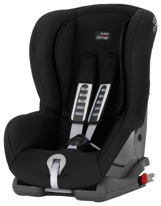 Kinderautositz Duo Plus - Anthrazit/Schwarz, Basics, Kunststoff/Textil (45/64/46cm) - Römer