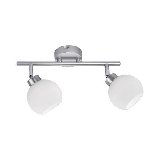 STRAHLER - Weiß/Nickelfarben, Design, Metall (44/22/20cm) - Boxxx