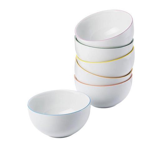 MÜSLISCHALENSET - Multicolor/Weiß, Keramik