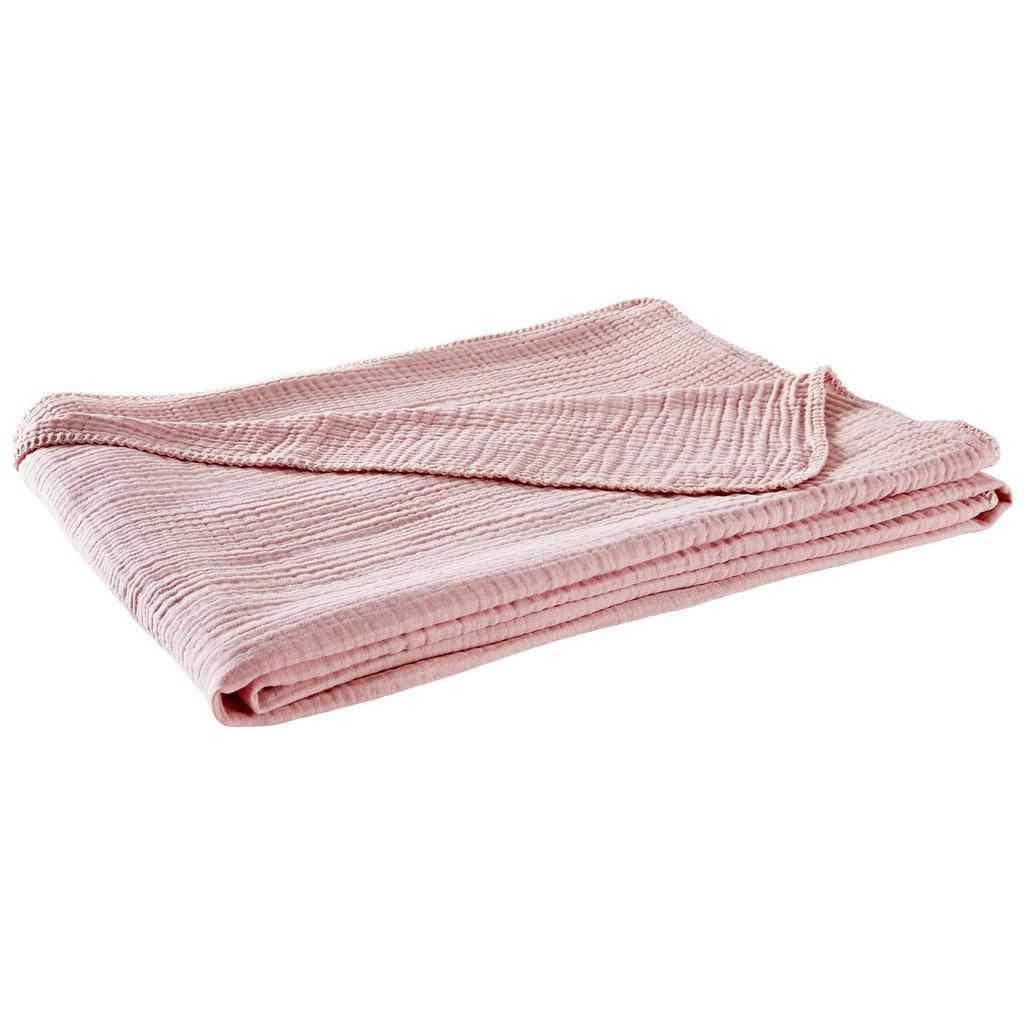 Novel Wohndecke 150/200 cm rosa