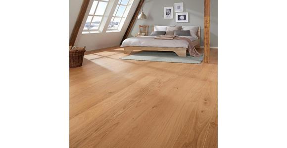 Landhausdiele Eiche natur  per  m² - Eichefarben, LIFESTYLE, Holz (220/18/1,3cm) - Ambiente