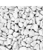PÍSEK DEKORAČNÍ - bílá, Basics, kámen (7/20,7/7cm) - Ambia Home